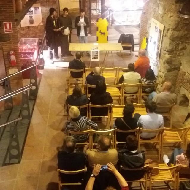 Presentaci del llibre Lespia de Montsoriu amb representaci teatral dunhellip