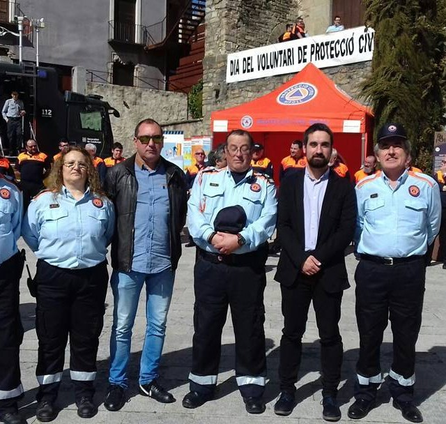 Aquest mat lAssociaci de Voluntaris de Protecci Civil de Bredahellip