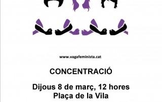 VAGA FEMINISTA 8 DE MARS