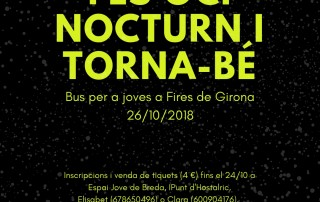 cartell Bus tornabe xarxes